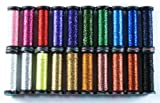 Kreinik Metallic Thread Very Fine # 4 Color Stash 5m 20 Spools