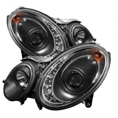 Spyder Auto 444-MBW21107-DRL-BK Projector Headlight