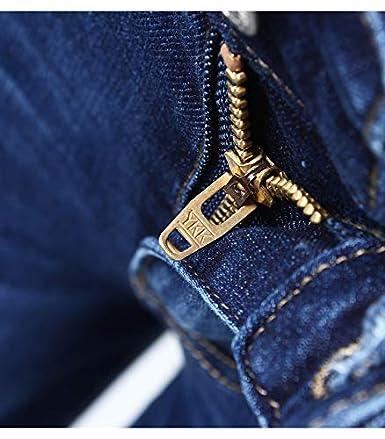 nobrand Jeans Skinny Strappati Dipinti a Cinque Tasche per Donna Pantaloni Skinny in Denim a Cinque Tasche Elasticizzati Strappati a Matita