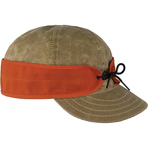 Waxed Cotton Cap from Stormy Kromer