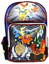 Pokemon 16 Large 3D Holographic Large School Back Pack New
