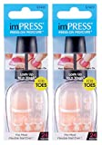 press on toenails - **NEW 2-PACK** KISS imPRESS