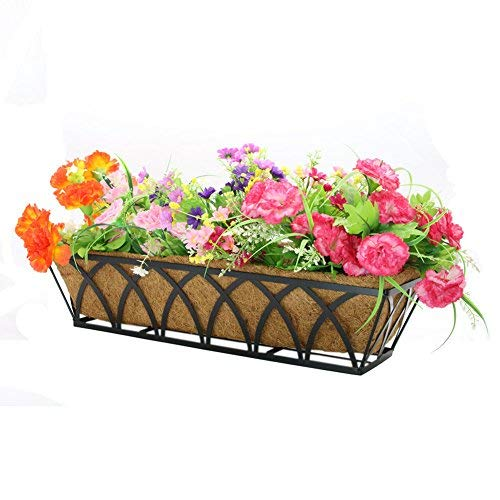 24 inch Coco Liner for planters Replacement Liner Rectangle Basket -2pcs