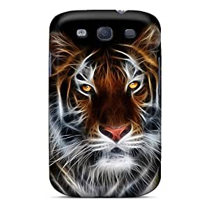 BbL1192vYwr Tiger Art Awesome High Quality Galaxy S3 Case Skin