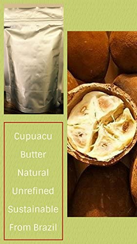 Cupua u Butter – 32 Oz 2 lb – Wholesale Price – Raw Unrefined – Sustainable Product