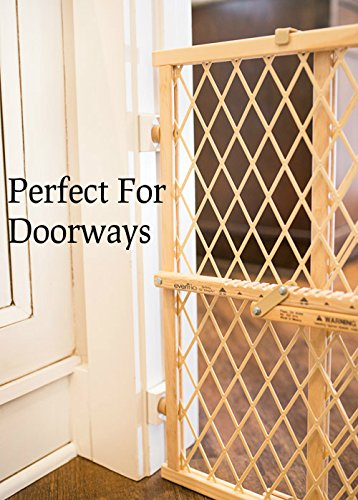 Wall Nanny Mini - Baby Gate Wall Protector (Made in USA) for Dog & Pet Gates - Small Low-Profile Saver - Perfect in Doorways - Cups Protect & Guard Walls from Kid Child Safety Pressure Gates - 4 Pack by Wall Nanny (Image #8)