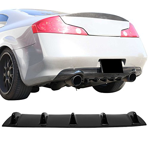 Rear Bumper Lip Diffuser Fits 2003-2006 Infiniti G35 for sale  Delivered anywhere in USA