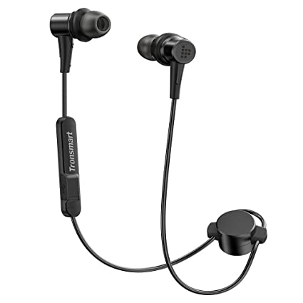 15dae56f508b28 Tronsmart Bluetooth Headphones 4.1 in Ear Magnetic Earbuds AptX 12 Hours  Playtime Wireless Earphones with Mic