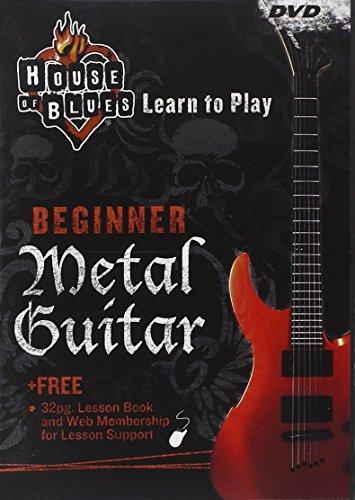 Rock House Metal Guitar - House of Blues Beginner, Metal Guitar