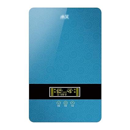 Water heater Calentador de Agua instantáneo - salón de peluquería de peluquería termostática (Color :