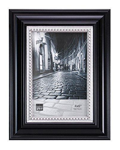 Kiera Grace Bolton Picture Frame 4 By 6 Inch Black With