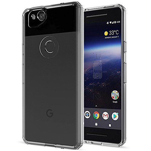 Google Pixel 2 Case , AnoKe New Pixel 2 Phone Case with Screen Protector , Mandala Glitter Cute Women Girls Boy Men Ultra Thin Slim Fit PC+TPU Cell Phone Hard Cover Cases for Google Pixel 2 TM Clear