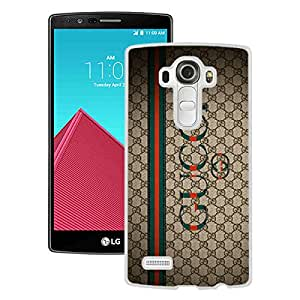 AZE Beautiful Fashion Gucci 27 White Case Cover For LG G4