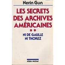 Secrets des archives ameri.t.2