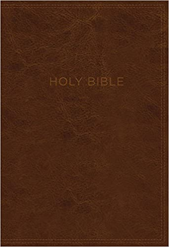 KJV, Know The Word Study Bible, Leathersoft, Brown, Red Letter