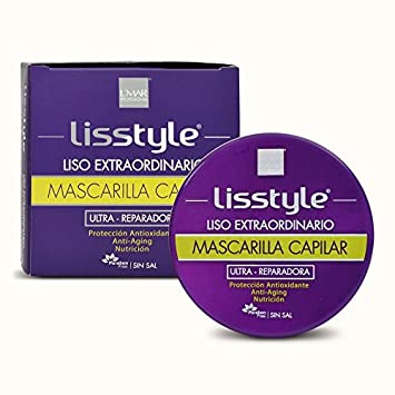 Lmar Lisstyle Progresive Straightening Mask Post Treatment with Carbocysteine | Mascara Post Alisado...