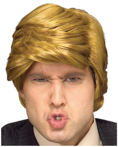 Rubie's The Billionaire Wig, Blonde, One Size