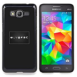 "Qstar Arte & diseño plástico duro Fundas Cover Cubre Hard Case Cover para Samsung Galaxy Grand Prime G530H / DS (Signos"")"