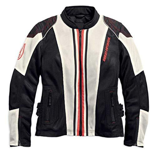 (Harley-Davidson Women's Prairie Mesh Riding Jacket w/Coolcore 97117-18VW (2W) Black)