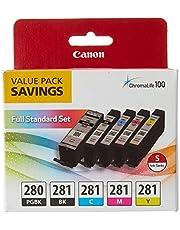 Canon 2075C006 PGI-280 / CLI-281 5 Color Ink Pack, Multi