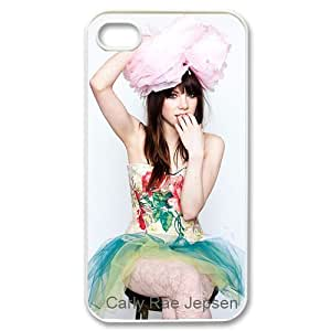 Custom Case Carly Rae Jepsen for Iphone 4/4s Case Cover New Design,top Iphone 4/4s Case Show 1s578