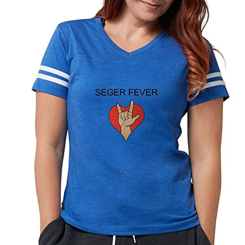 CafePress - Women's Cap Sleeve T-Shirt - Womens Football Shirt Royal Blue