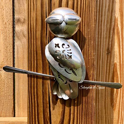 - Artesian Silverplate Spoon Hanging Owl