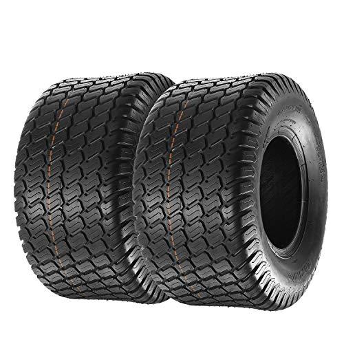 MaxAuto Set of 2 18x9.50-8 18/9.50-8 Lawn & Garden Mower Tractor Turf Tires 4PR ()