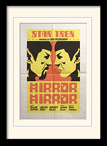 Mirror Mirror Gerahmtes Poster F/ür Fans Und Sammler 40 x 30 cm 1art1 101735 Star Trek