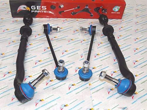 - GES PARTS 6 Stabilizer Link & Inner Outer Tie Rod End for BMW E39 525i 528i 530i ES80953