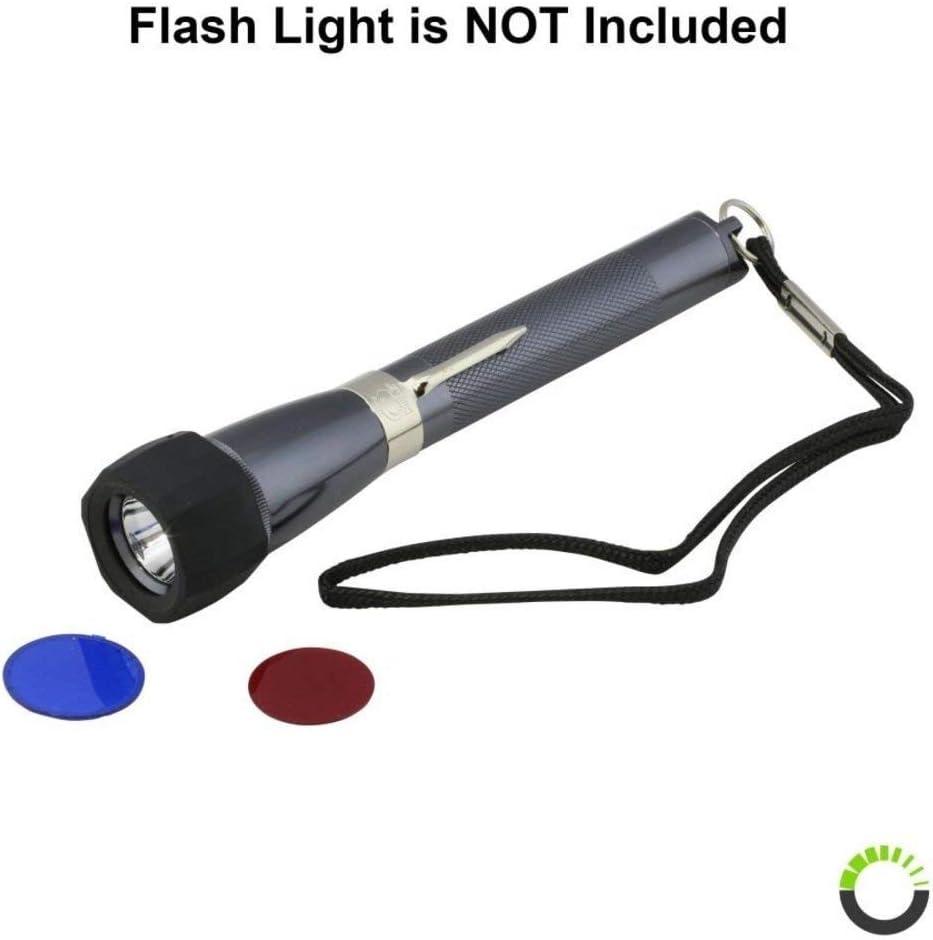 LED lampe de poche torche électrique stylo professionnel pratique finesse Rouge