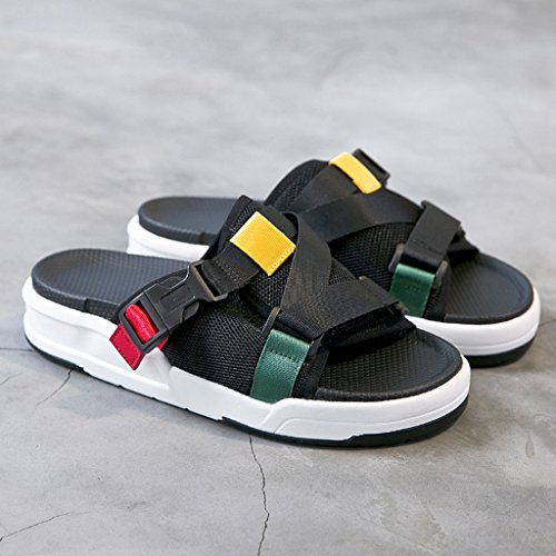 a0fa0574 Chic Zapatillas Punta Abierta Malla Superior Hembra Verano Moda Zapatos  Planos Sandalias Zapatos Casuales