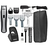 Wahl Lithium Ion Cordless Beard Trimmer, with Adjustable Guide for Beard and Stubble Trimming, 1 Hour Charge with 3 Hours Run Time, and 1 Minute Quick Charge,