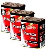 Carmencita Sweet Pimenton 75 g (2 oz) Pack of 3