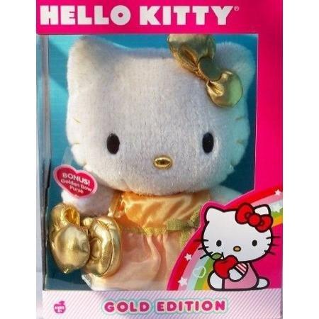 - Hello Kitty Gold Edition Plush by Sanrio