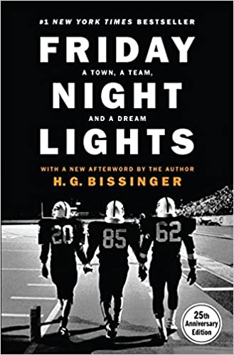 Image result for friday night lights by buzz bissinger
