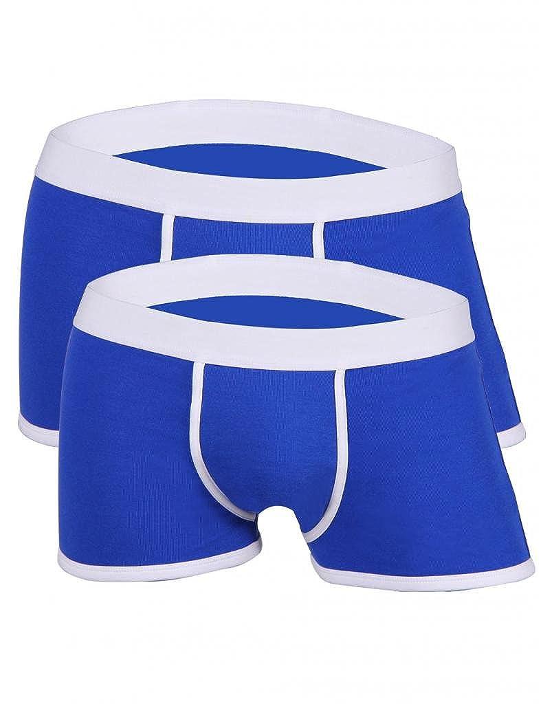 Godsen Men's Cotton Comfortable 2 PACK Underwear Brief Q9121