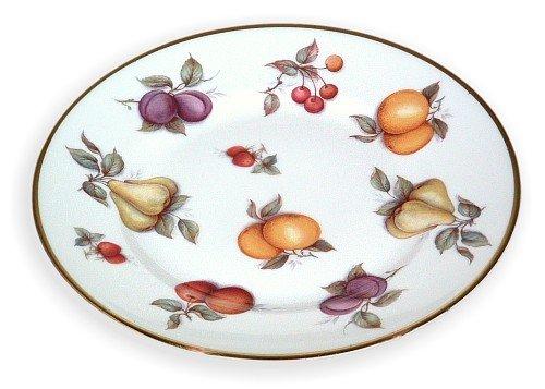 English China Dessert Plate Scattered (English Bone China Dessert Plate)