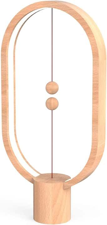 Amazon.com: Lámpara de equilibrio Heng, lámpara de mesa de ...