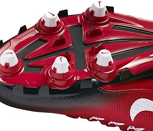 Nike Alfa Pro 2 3/4 D Mens Avtagbar Fotbolls Knapar Spel Röd / Svart / Vit