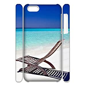D-PAFD Customized 3D case Island Beach for iPhone 5C