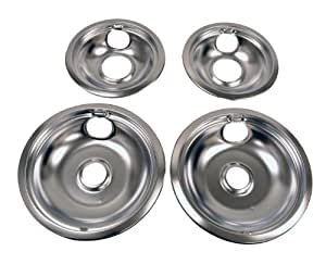 Amazon Com Whirlpool W10278125 Drip Pan Kit Chrome Home