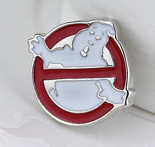 Ghostbusters_logo_Brooch_Broches_Silver_Red_White_Halloween_Ghost_Pins
