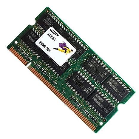Módulo de memoria para portátil, 512 MB RAM, PC SODIMM, Samsung M470L6423EN0-CB3 DDR1 PC-2700S 333 MHz: Amazon.es: Electrónica