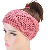 SUleeBF Women's Cable Knit Headband Head Wrap Ear