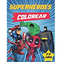 superhéroes colorear: Marvel Super Heroes Great Coloring Books