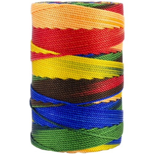 (Iris 18-511 Nylon Crochet Thread, 197-Yard, Crayon Mix )