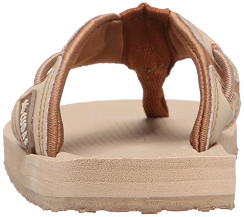 Cudas Womens Seneca Flip Flop Natural / Tan