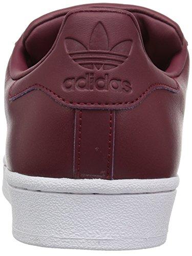 Adidas white Sneaker Burgundy Burgundy collegiate Originals Collegiate Superstarfashion rUHrq6