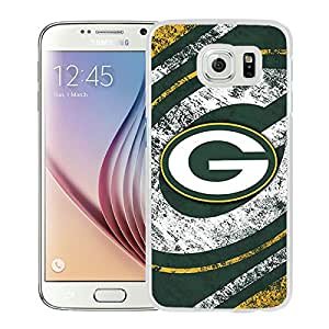 Green Bay Packers White Fashionable Design Samsung Galaxy S6 G9200 Plastic Case